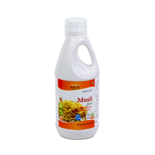 Musli Juice 500ml (Chlorophytum borivilianum) Ayurvedic Juices