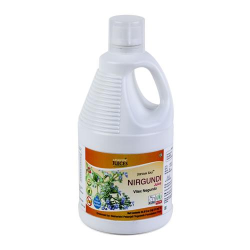 Nirgundi Juice 1000ml (Vitex negundo) Ayurvedic Juices