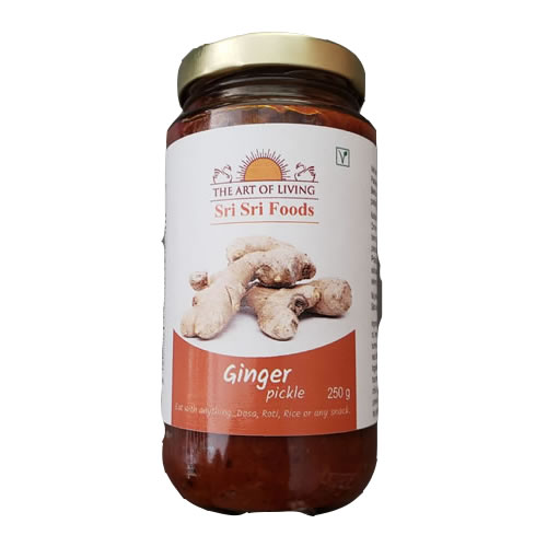 Sri Sri Ginger Pickle