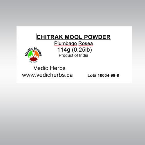 Chitrak Mool Powder 114gms