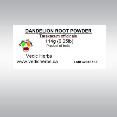 Dandelion Root Powder 114gms