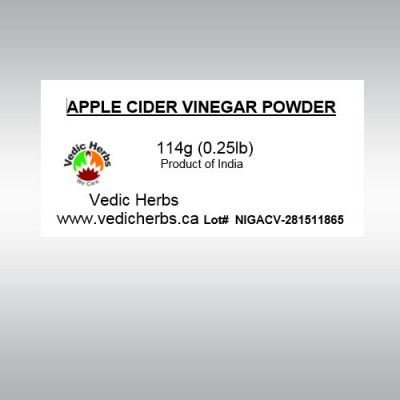 Apple Cider Vinegar Powder 114gms