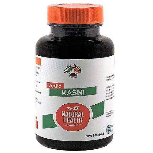 Vedic Kasni 60 Caps (Cichorium Intybus)
