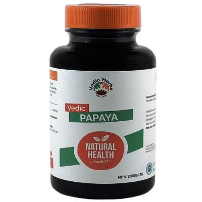 Vedic Papaya 60 Caps (Carica Papaya)